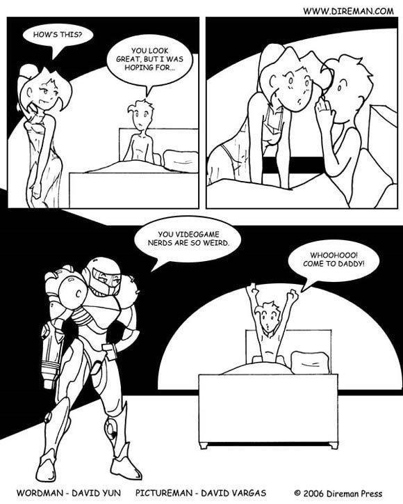 Video Game Sex Comics