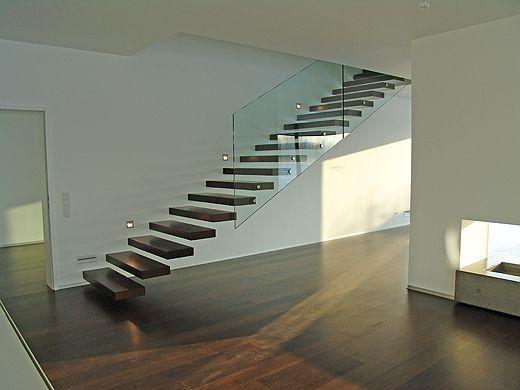 Freitragende Treppe Interesant Pinterest Staircases, Glass - exklusives treppen design