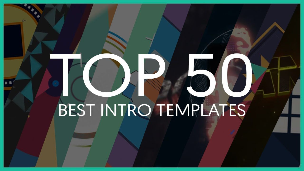 Top 50 Best Intro Templates Sony Vegas After Effects Cinema 4d