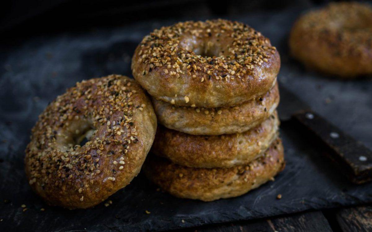 NYCStyle Bagels [Vegan, GlutenFree] Bagel, Vegan bagel