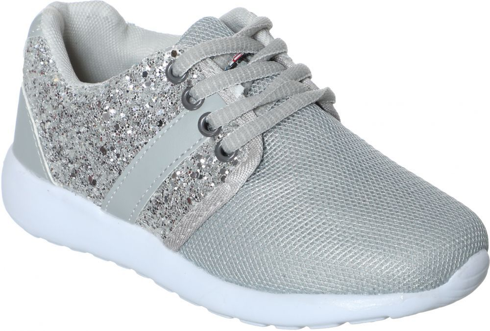 c97ff1437d6 Price, Review, and Buy Jelactiv Silver Fashion Sneakers For Kids | Egypt |  Souq