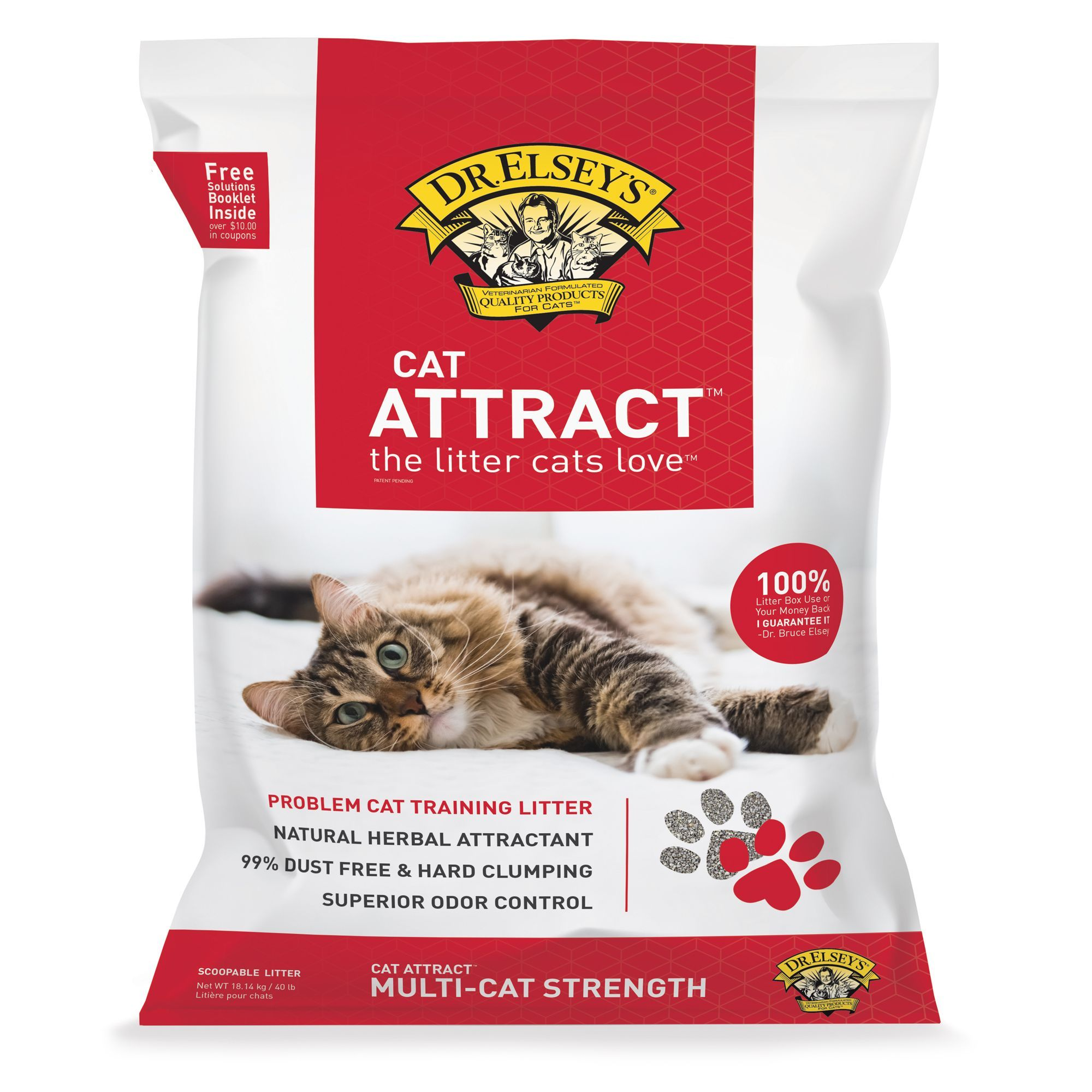Dr Elsey S Precious Cat Attract Cat Litter Clumping Multi Cat Strength Best Clumping Cat Litter Clumping Cat Litter Best Cat Litter