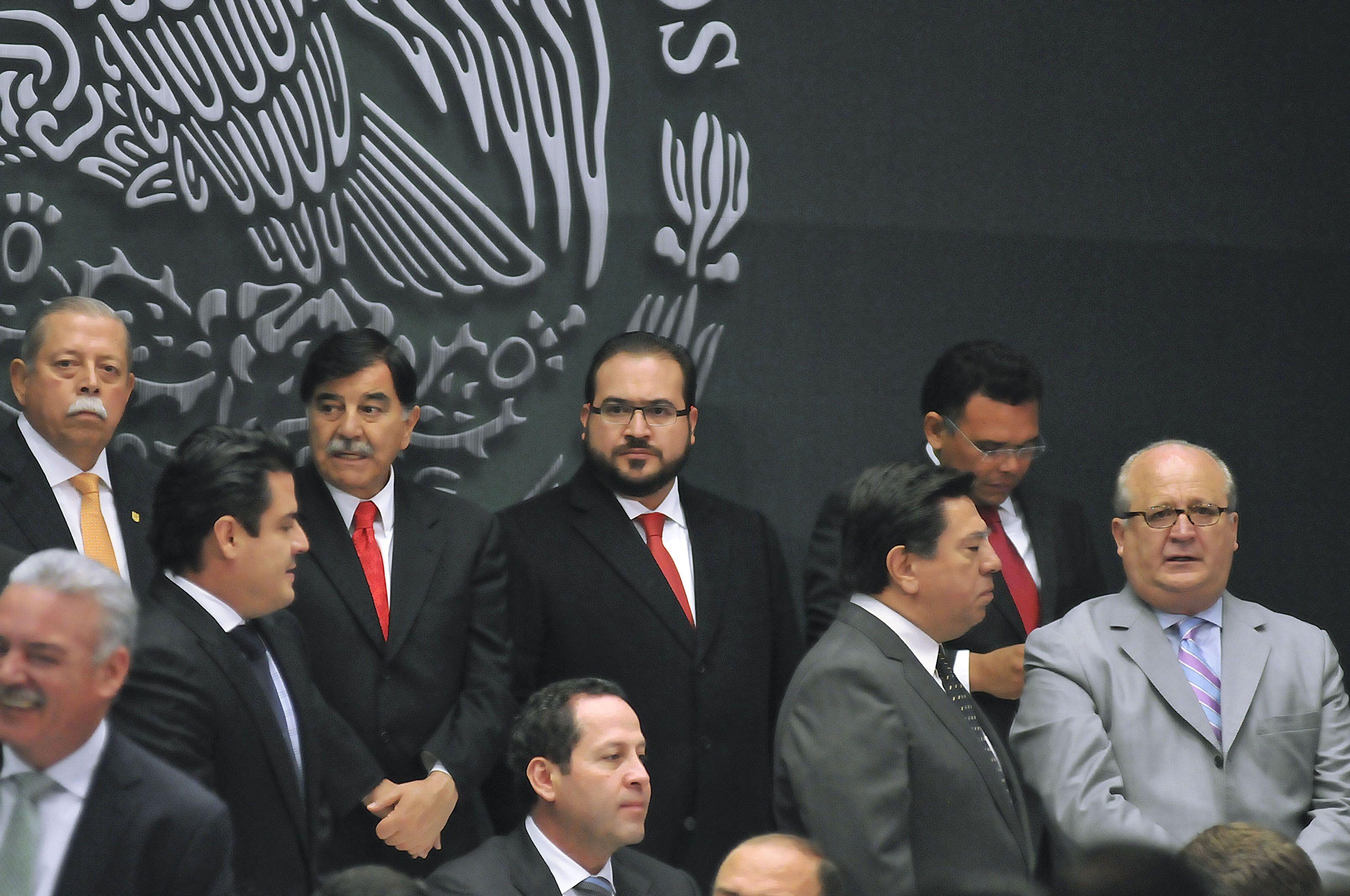 En el marco de la reunión en la residencia oficial de Los Pinos, el ...