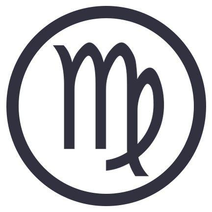 Sticker decal zodiac astrological astrology sign car vinyl maiden virgo