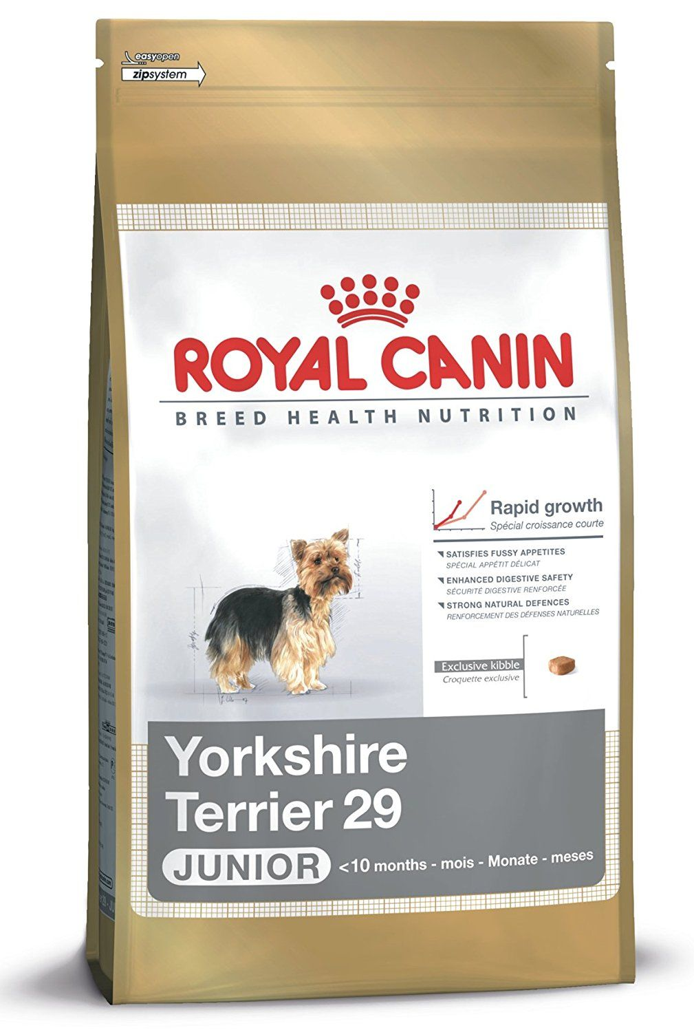 Royal Canin Yorkshire Terrier Junior Dog Food 1 5kg Trust Me This Is Great Click The Image Th Dog Food Recipes Dog Food Allergies Dog Food Comparison