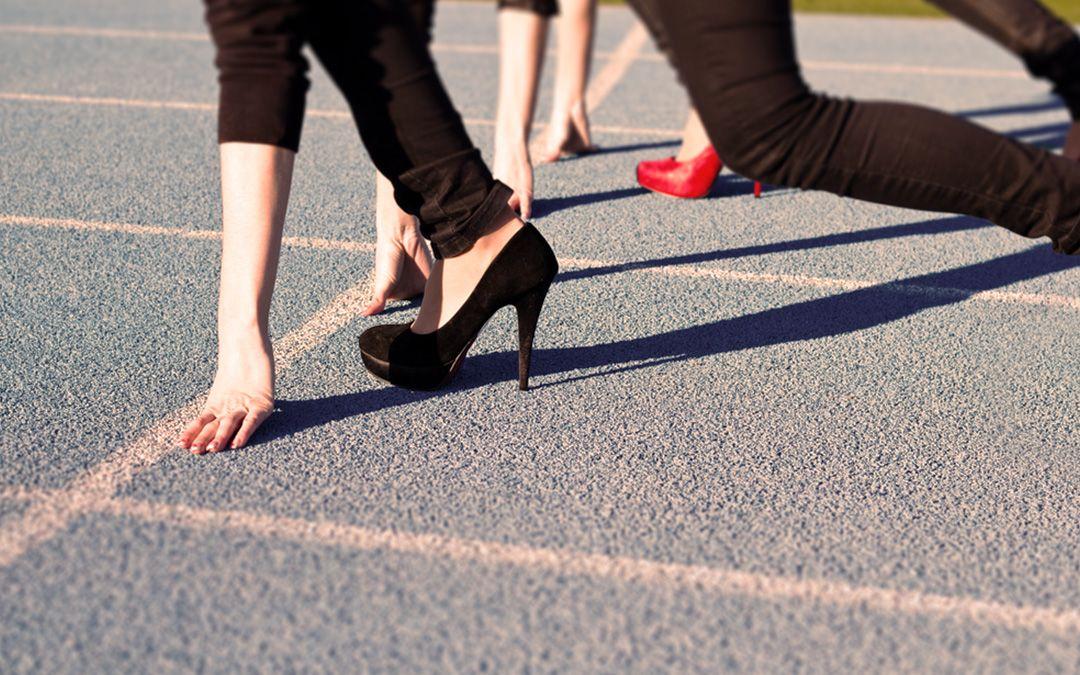 Stöckelschuh-Rennen, iPhone-Release und Paralympics-Start