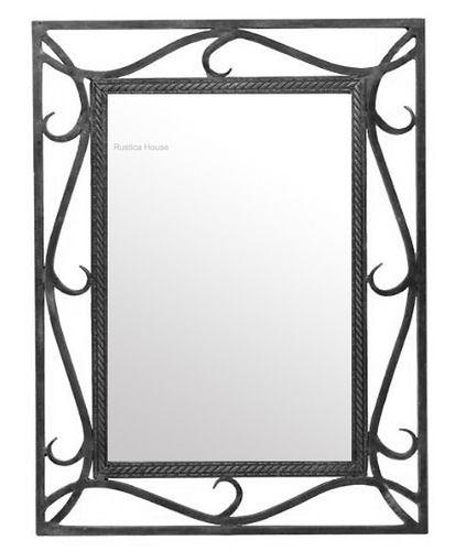 Iron Mirror Sinaloa Wrought Iron Mirror Mirror Design Wall Mirror