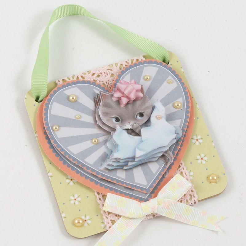Využijte kočičí kolekci papírů a doplňků k výrobě krásných přání. | Davona výtvarné návody