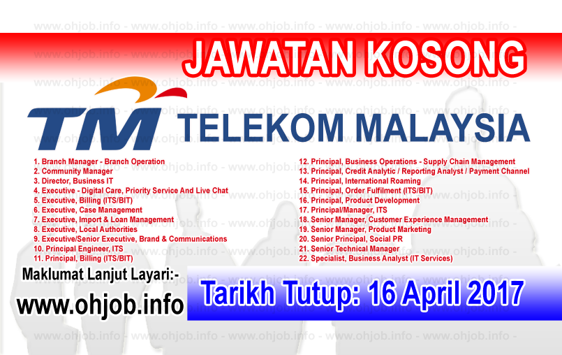 Jawatan Kosong Tm Telekom Malaysia 16 April 2017 Kerja Kosong Tm Telekom Malaysia April 201 Community Business Online Marketing Supply Chain Management