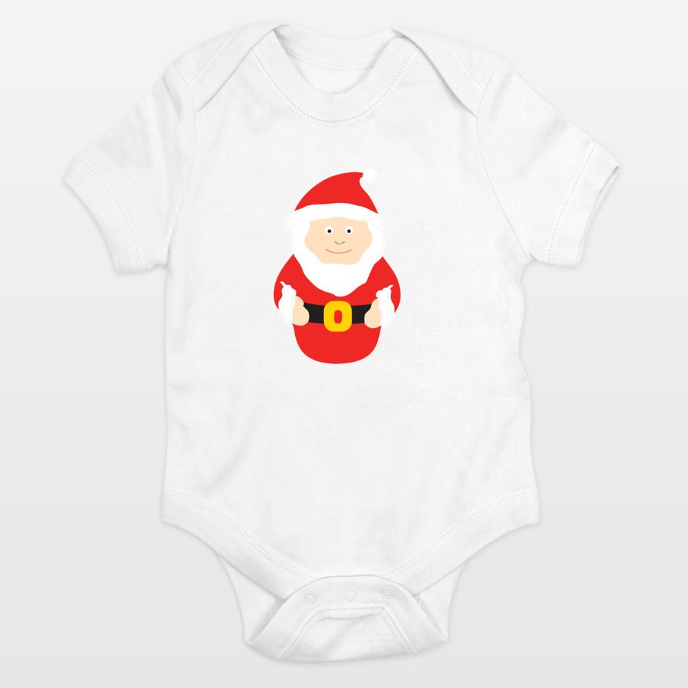 Fun Indie Art from BoomBoomPrints.com! https://www.boomboomprints.com/Product/calicoelephant/Santa/Onesies/0-3M_Cloud_White/