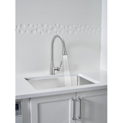 Blanco Atura Pull Down Single Handle Kitchen Faucet Finish