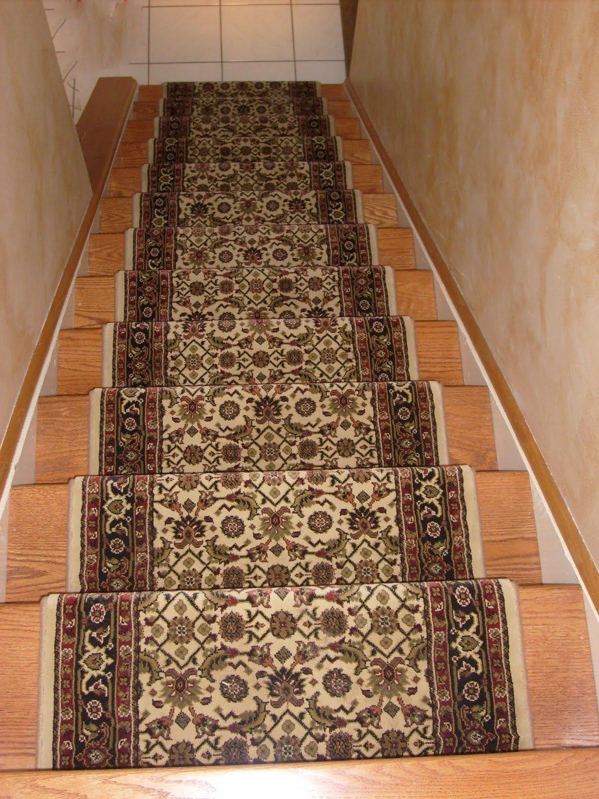 Captivating Oriental Stair Runners Carpet