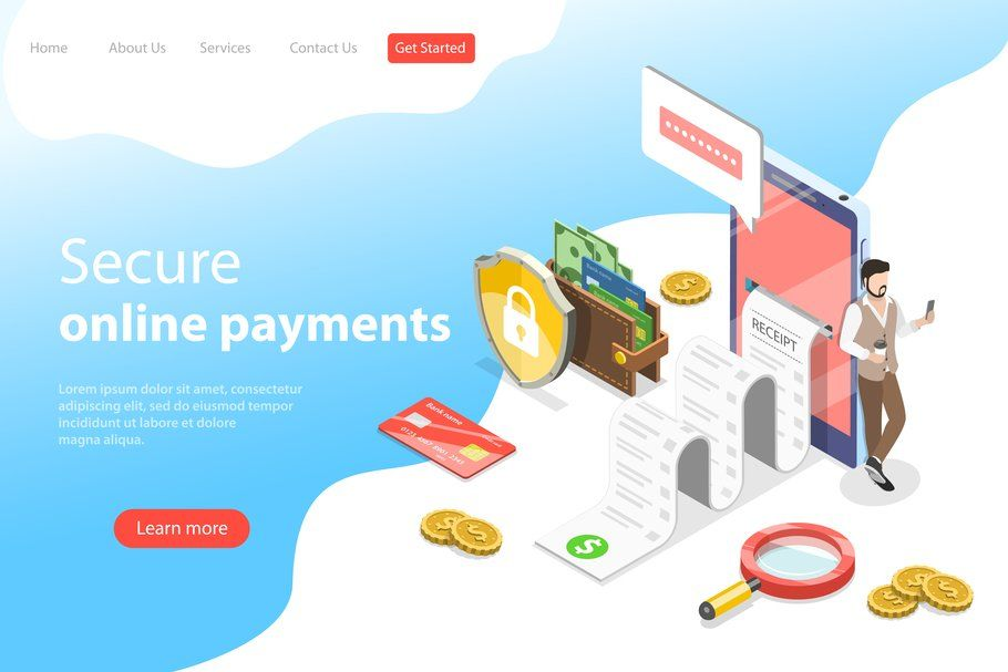 100 Website Hero Illustrations Digital Marketing Education Online Payment Seo Digital Marketing