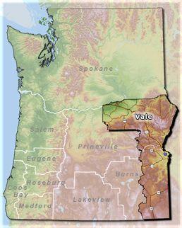 Vale District Map State Park Oregon Vacation Pinterest