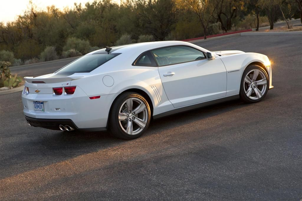 The 2013 Chevrolet Camaro ZL1 is powered by the same 6.2 liters ...