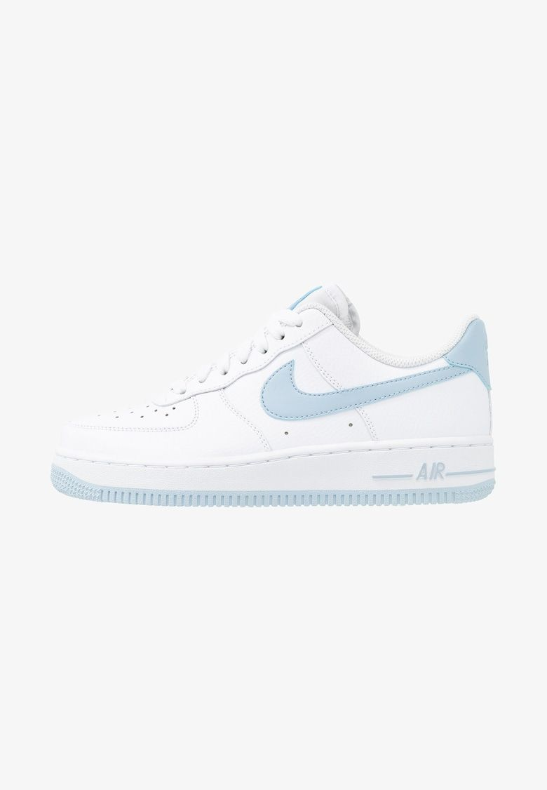 AIR FORCE 1'07 - Sneakers laag - white/light armory blue ...