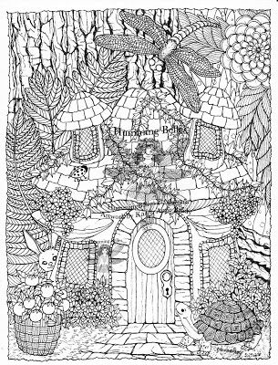 Fairy Houses Coloring Pages Google Search Detailed Coloring Pages Coloring Pages Nature Turtle Coloring Pages