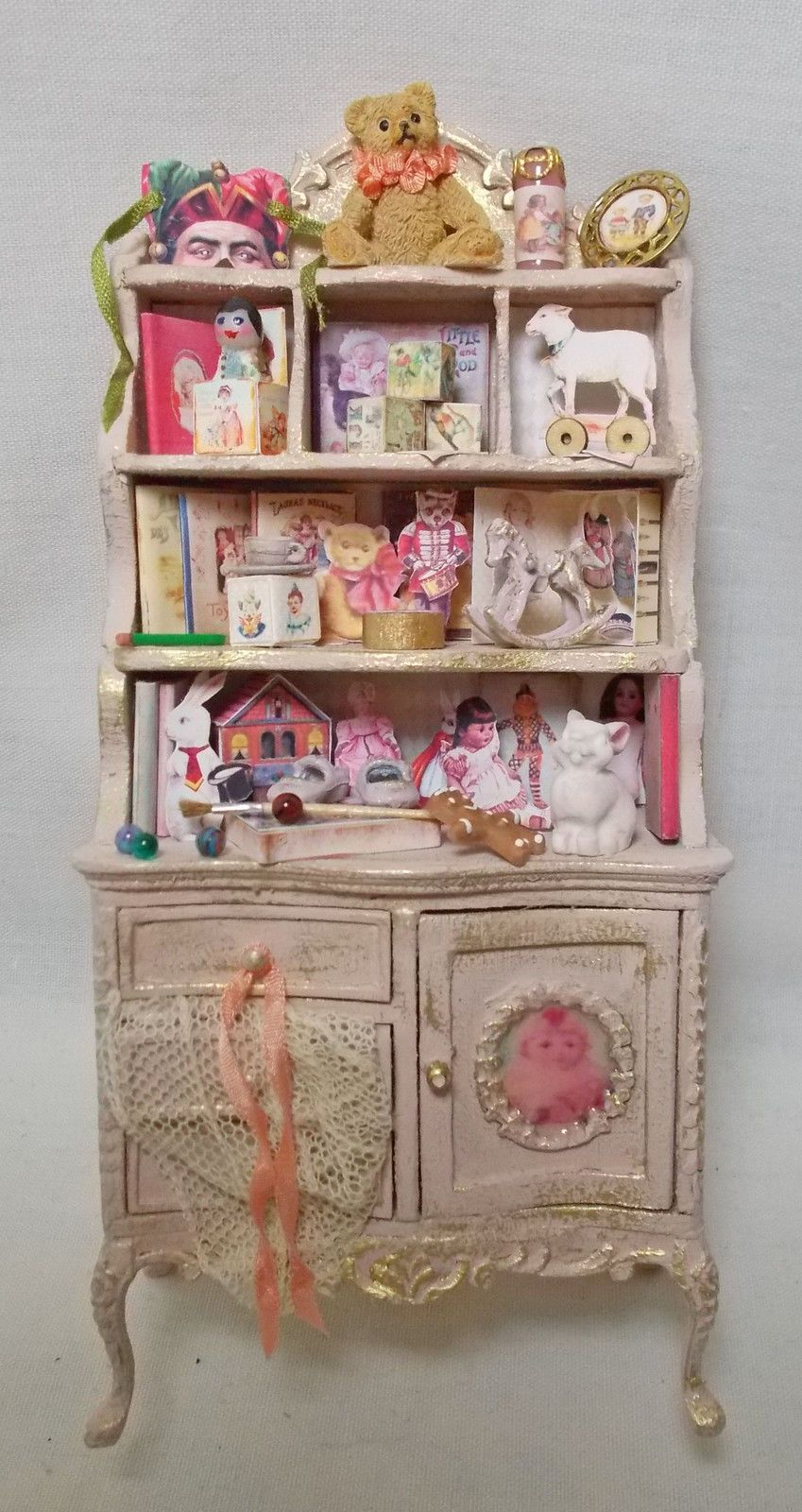 Dolls house miniature BESPAQ Nursery or Shop Filled Toy
