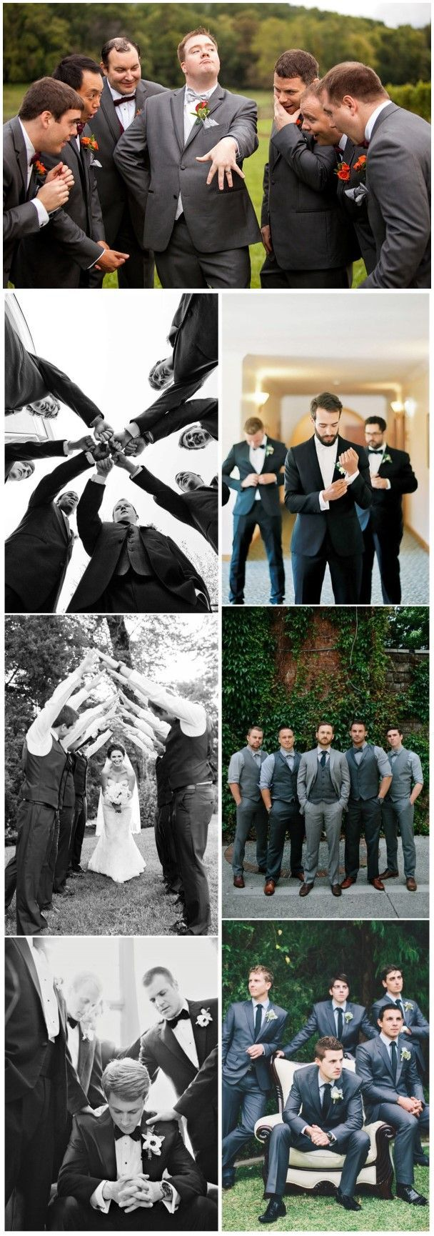 21 Must-have Groomsmen Photos Ideas to Make an Awesome Wedding #attireforwedding