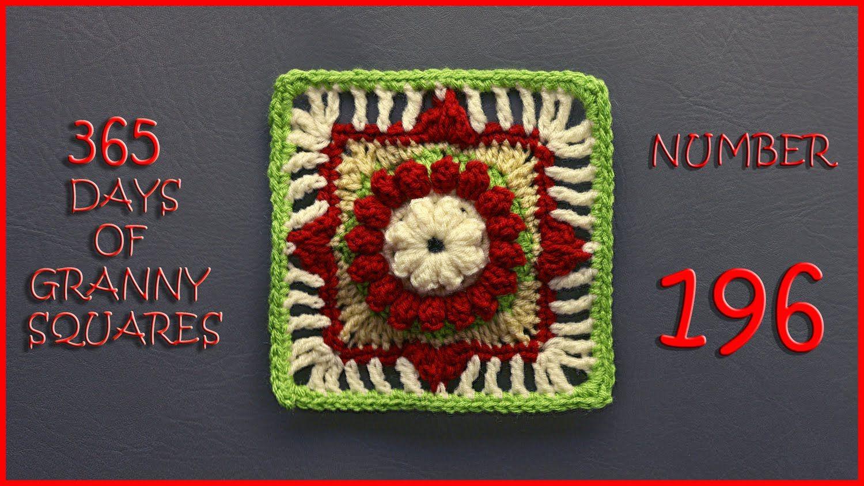 365 Days of Granny Squares Number 196   crochet   Pinterest   La ...