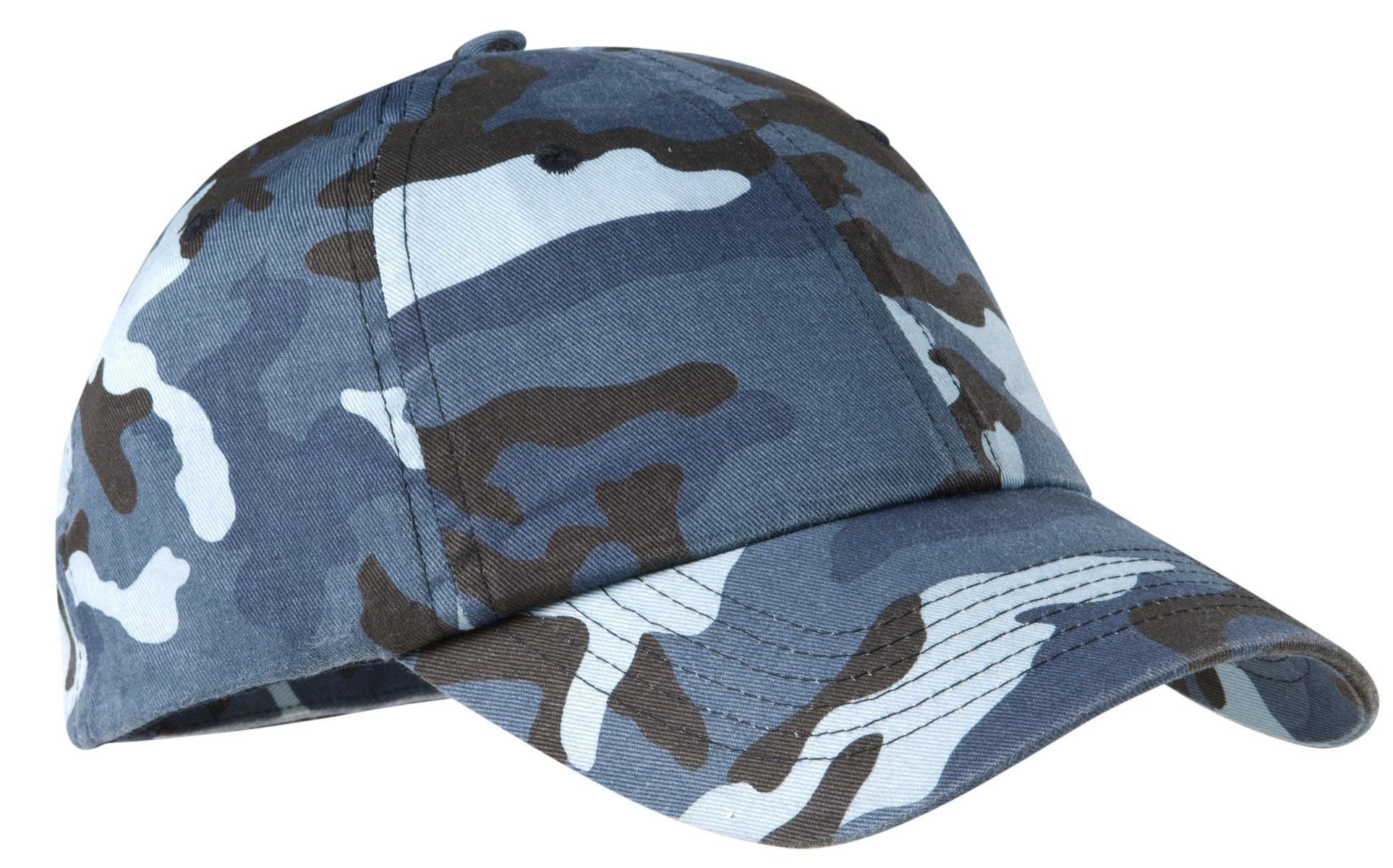 Port Authority Camouflage Cap C851 Navy Camo | Products | Camo
