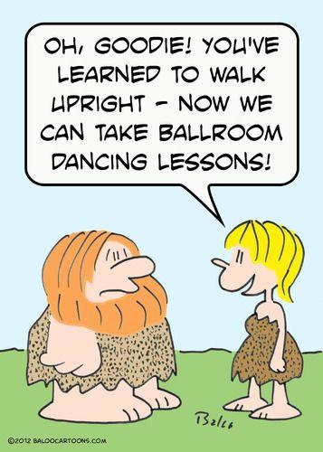 Taking Ballroom lessons