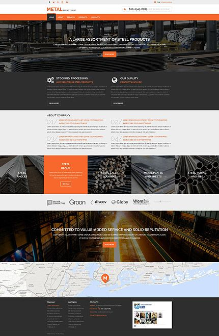 Pin By Muotolab On Website Templates Website Template Responsive Website Template Business Website Templates