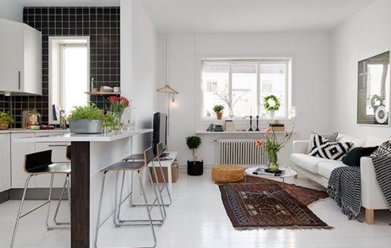 Ideas para Crear un Comedor en la Sala Pequeña | casa | Pinterest ...