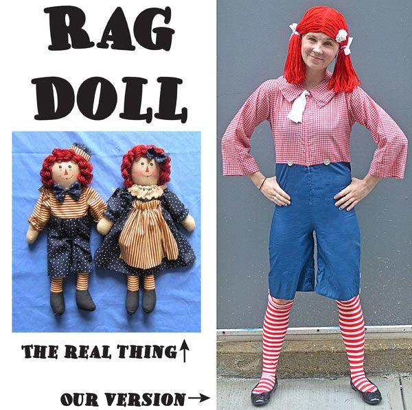 Rag Doll Costume Diy Halloween Costumes Halloween Costumes