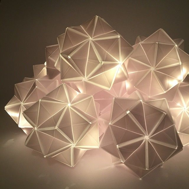 These Origami Paper Centerpieces Will Light Up The Tables In The Hungarian  State Opera On Faust