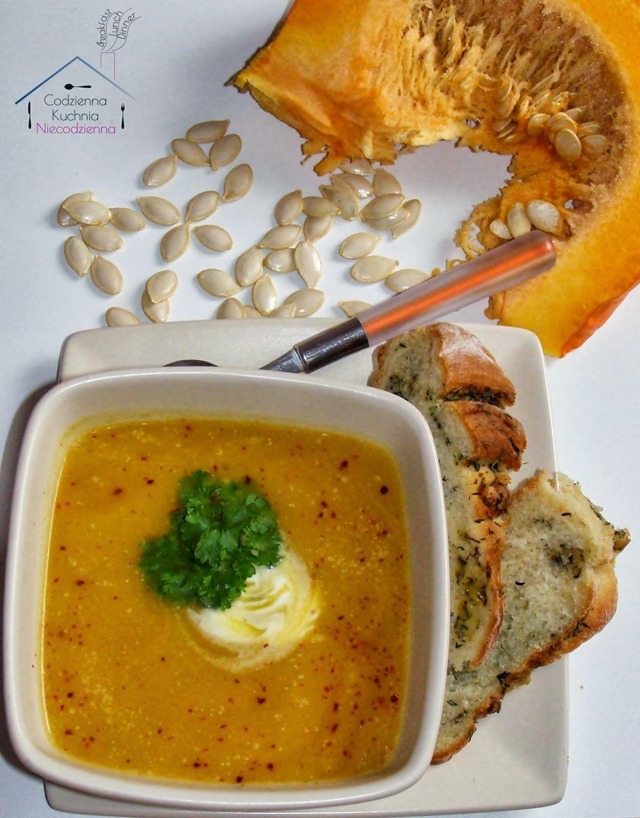 Daylicooking Blog Kulinarny Sprawdzone I Proste Przepisy Fotografia Kulinarna Zupa Dyniowa Z Imbirem Soup Recipes Healthy Eating Food