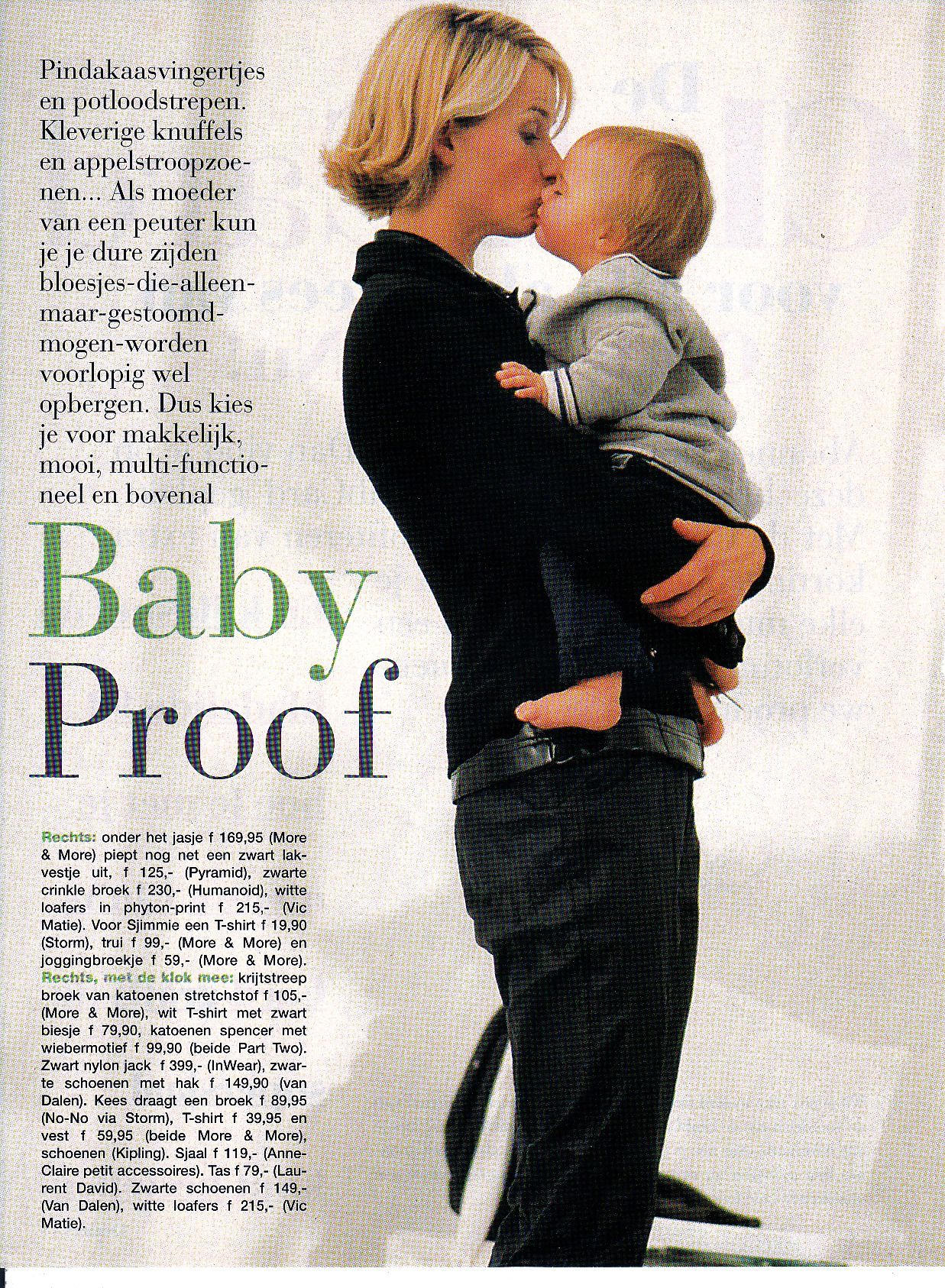 Babyproof,  concept, production & styling Nina Monfils