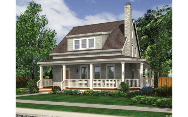One of my favorite home designs: Mascord Plan 21115 - The Osprey ...