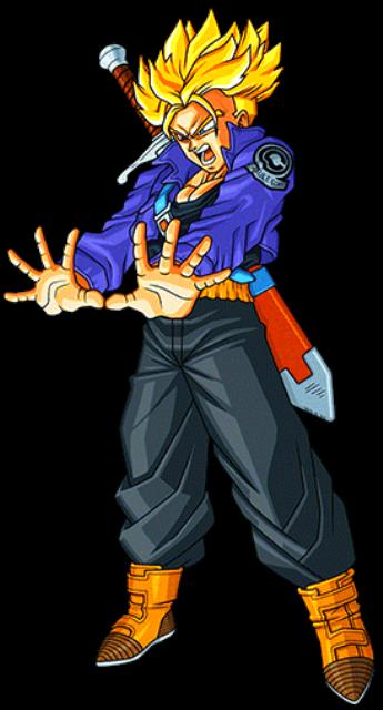 Future Trunks Ss1 By Alexelz Deviantart Com On Deviantart Anime Dragon Ball Super Dragon Ball Art Anime Dragon Ball