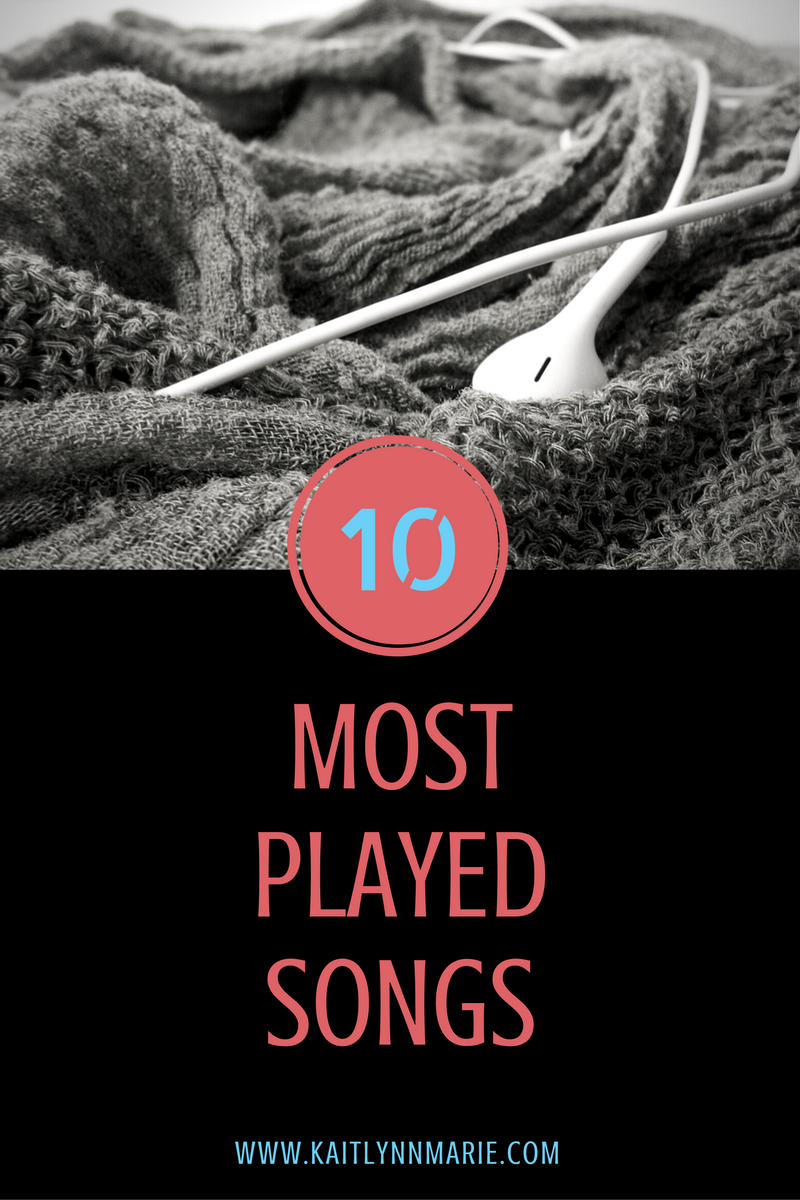 Top 10 Most Played Songs | Kaitlynn Marie