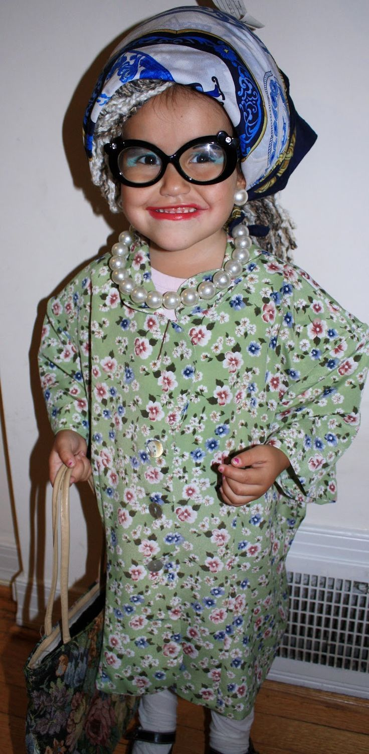 old lady costume for girl - Google Search - Old Lady Costume For Girl - Google Search Dress Up Day