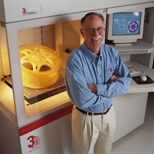 Charles Hull Is The Inventor Of Stereolithography, The