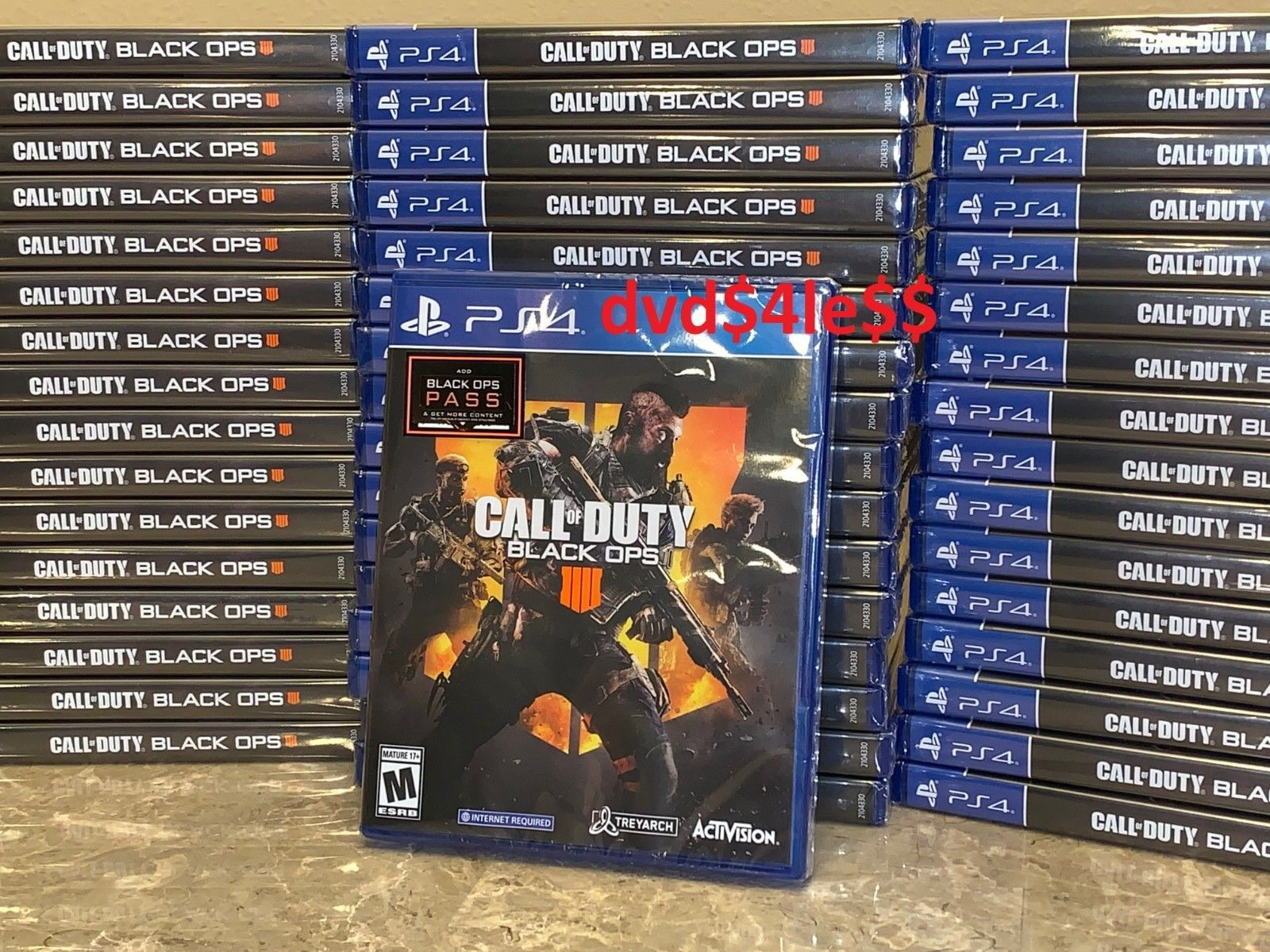 Video Games 139973 Call Of Duty Black Ops 4 Sony Playstation 4