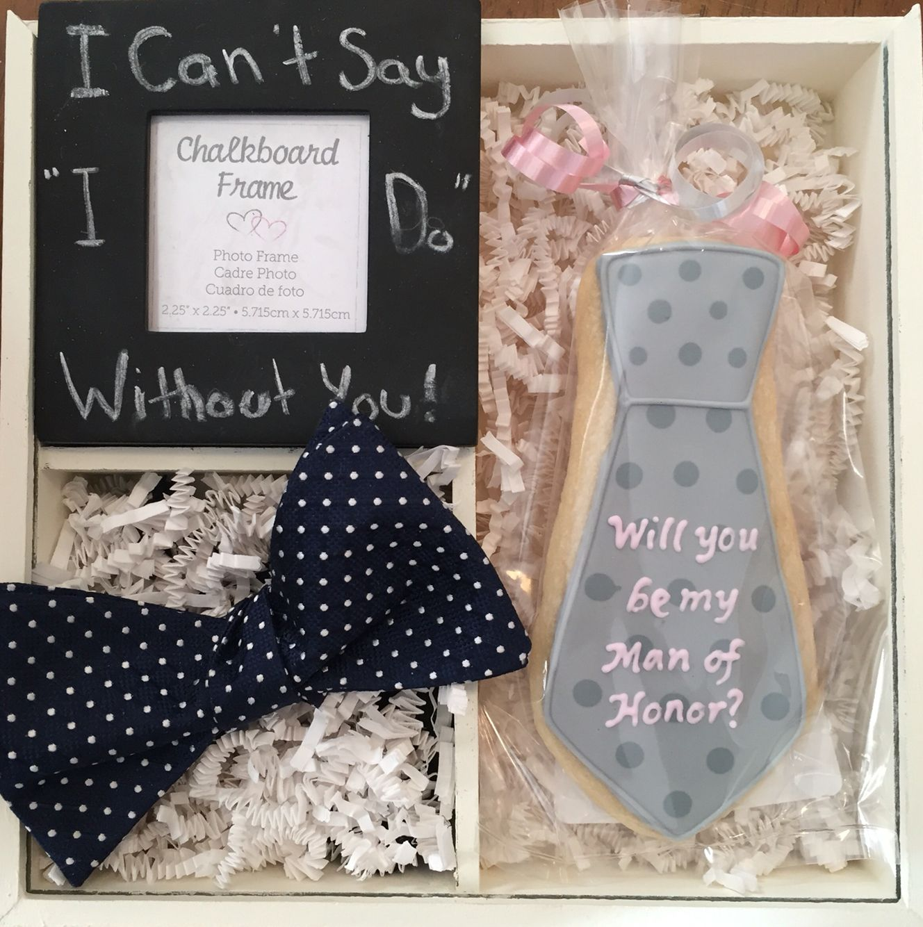 Man Of Honor Proposal Box Bridesman Proposal Gifts For Wedding Party Bridesmaid Proposal