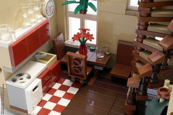 Best Lego House Lego House Lego Furniture Lego Room 400 x 300