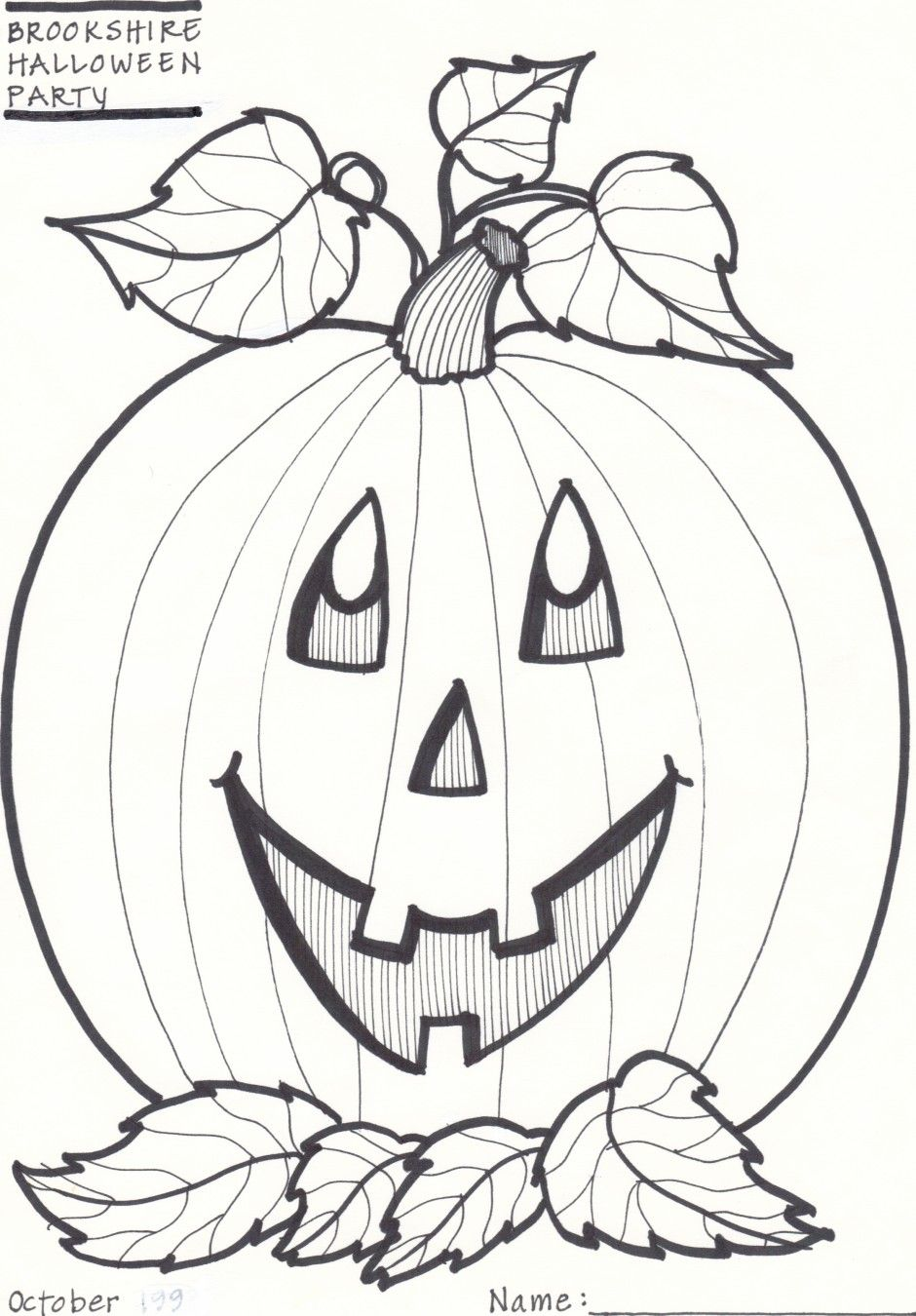 pumpkin coloring pages | halloween crafts for kids plain pumpkin ...
