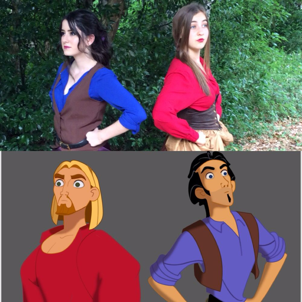 Genderbent Tulio And Miguel Cosplay Based Off Of The Design Of