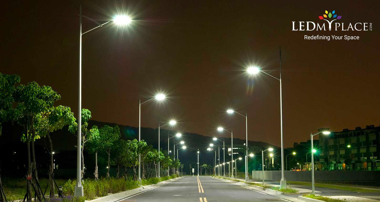 Adopt Green Lighting Technology Install Led Dusk To Dawn Light With Photocell For Added Benefits Led Street Lights Street Light High Bay Lighting