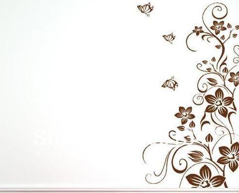 Dibujos De Enredaderas Para Paredes Imagui Hojas