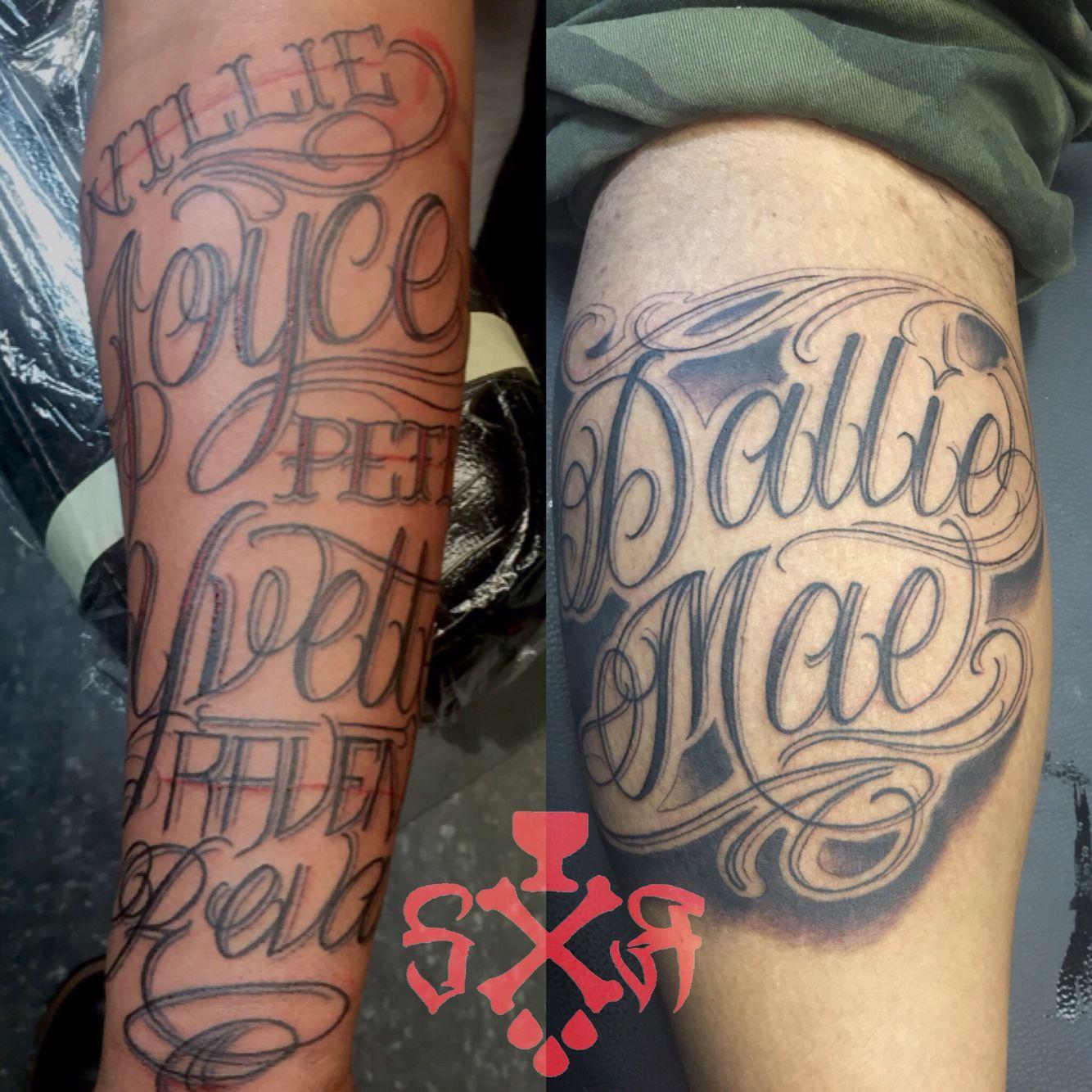 Lettering tattoos raven tattoo polynesian tattoo