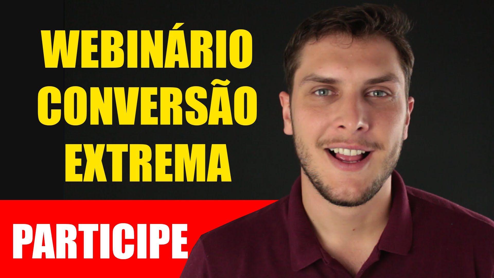 Webinário Conversão Extrema com Tiago Tessmann 15/08 às 20h