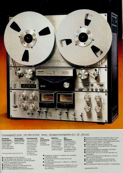 philips n4520 vintage audio electronic audiophile fb. Black Bedroom Furniture Sets. Home Design Ideas