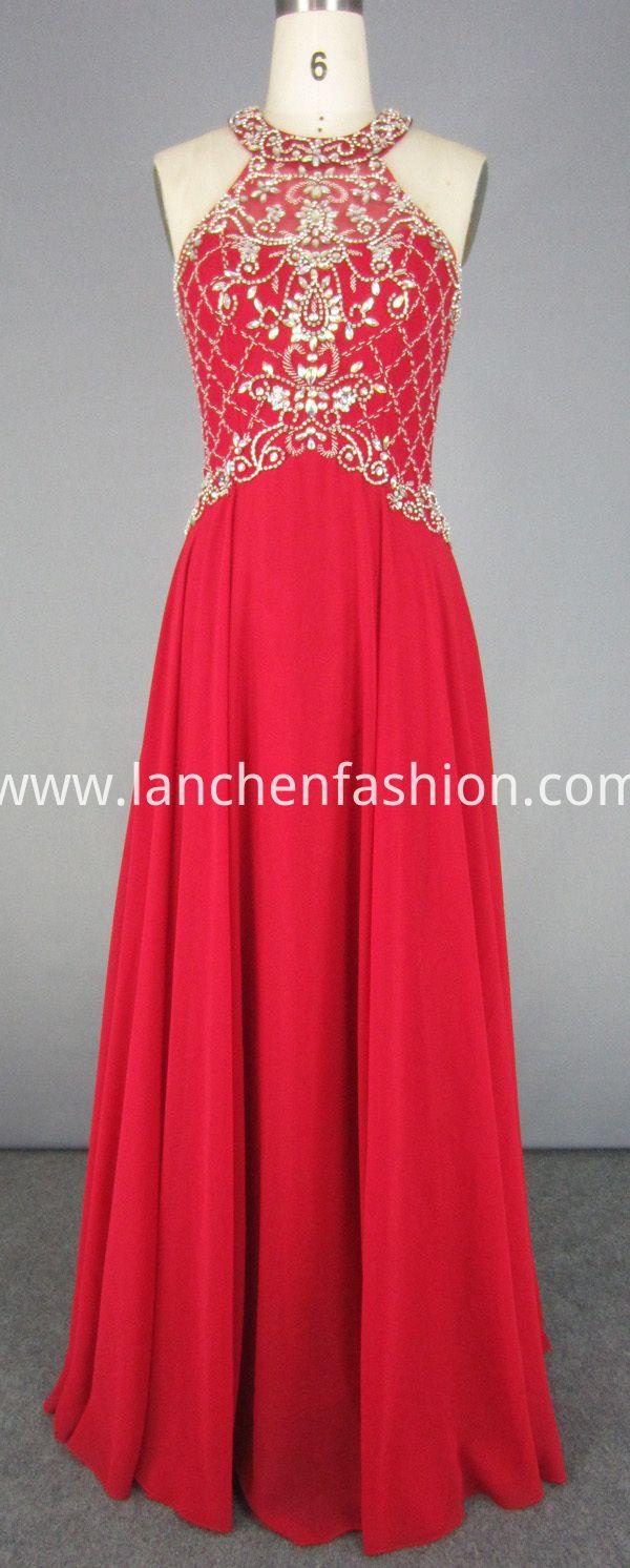 Gorgeous design and excellent workmanship chiffon prom dress itus