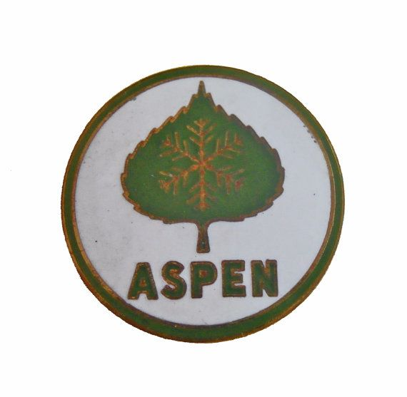 """ASPEN COLORADO vintage lapel cloisonne enamel pin CO State ski mountains by VintageTrafficUSA  14.00 USD  A vintage Aspen pin! Excellent condition. Measures: approx 1"""" Add inspiration to your handbag tie jacket backpack hat or wall. Have some individuality = some flair! 20 years old hard to find vintage high-quality cloisonne lapel/pin. Beautiful die struck metal pin with colored glass enamel filling. -------------------------------------------- SECOND ITEM SHIPS FREE IN USA!!! LOW SHIPPING…"""