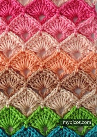 How To Crochet: 76 Crochet Stitches And Tutorials | Pinterest ...